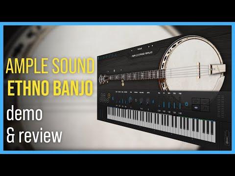 Ample Sound Ethno Banjo   Demo & Review