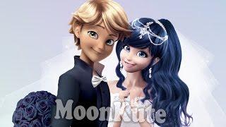 WEDDING ♥ Marienette and Adrien  ♥ Miraculous Ladybug Wedding -  MoonKute