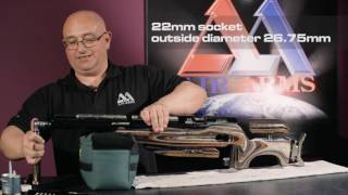 Air Arms D I Y   How To Replace The Gauge On A FTP 900 Air Rifle