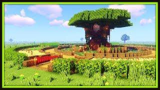 Treehouse Base | Minecraft Timelapse