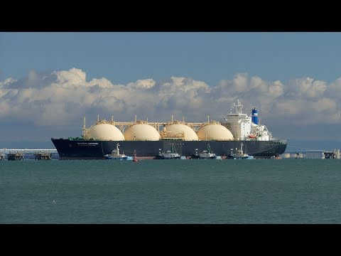 "LNG Tanker""NORTHWEST SANDERLING""Yokkaichi"