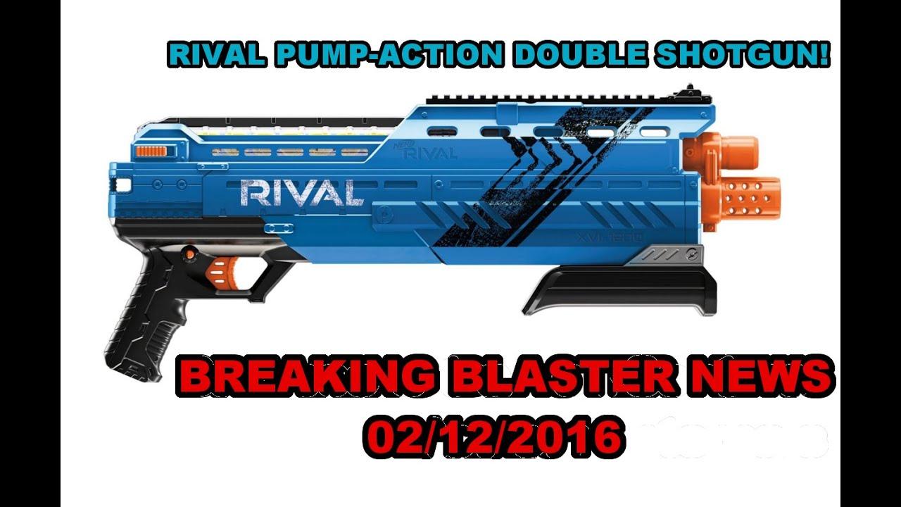Download BREAKING BLASTER NEWS - RIVAL PUMP DOUBLE SHOTGUN (Atlas XVI-1200) | Walcom S7