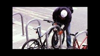 Bike thief caught red handed, Bike theft prank, Bike theft fail