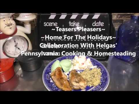 ~Home For The Holidays Collaboration With Helga's Pennsylvania Cooking       Sea Foam Jello Salad~