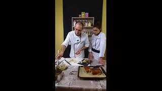 Recette du filet mignon de porc en brioche façon Wellington et sa sauce Porto...Live Partie 2