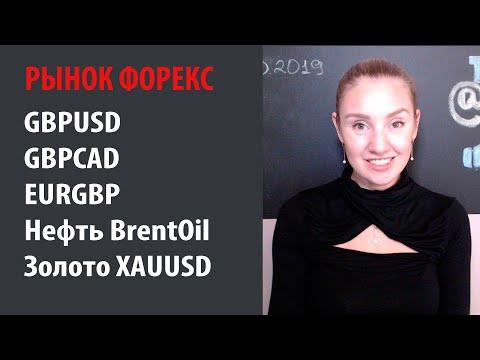✳️Рынок Форекс - 14.10.19 - 18.10.19 Ситуация с фунтом, нефть золото и работа с лотом