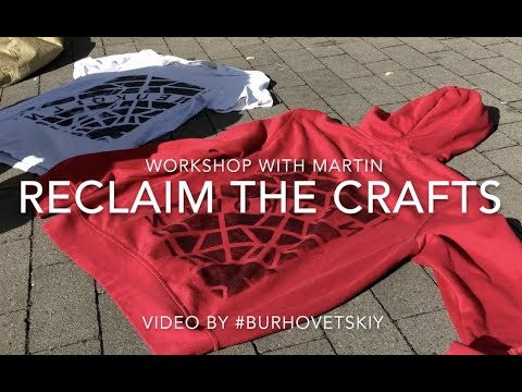 SCREEN / STREET PRINTING - workshop with Martin