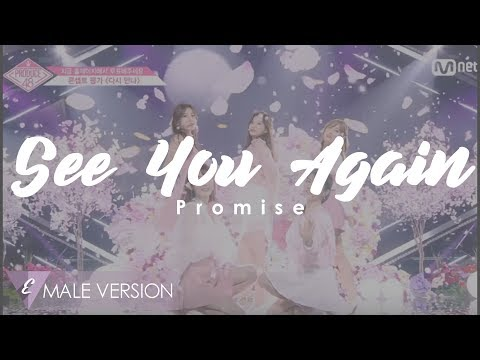 MALE VERSION | Promise - See You Again [PRODUCE 48]