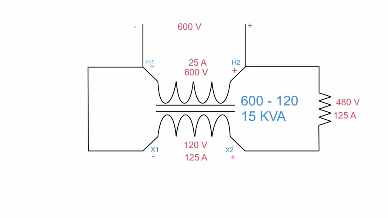 hight resolution of buck boost autotransformers