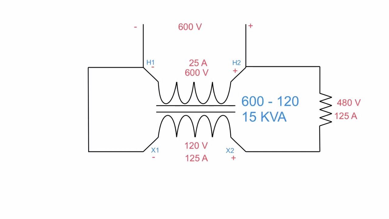 buck boost autotransformers [ 1280 x 720 Pixel ]