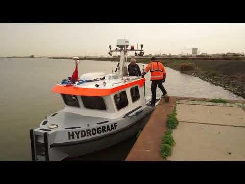 Survey Vessel 'Hydrograaf'  - Baggerdepot Hollandsch Diep