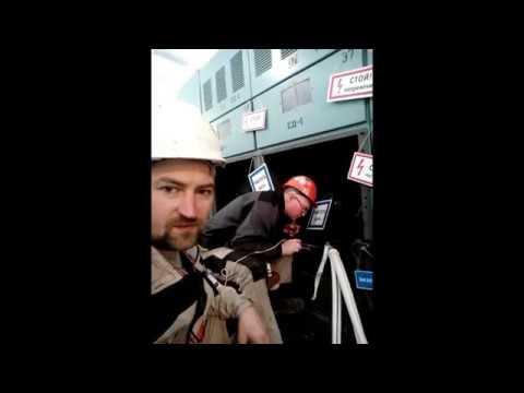 Прокладка и опрессовка кабеля 3х185мм2