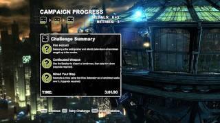 """Batman Arkham City - Batman """"Predator Campaign"""" (EXPERT) [HD]"""