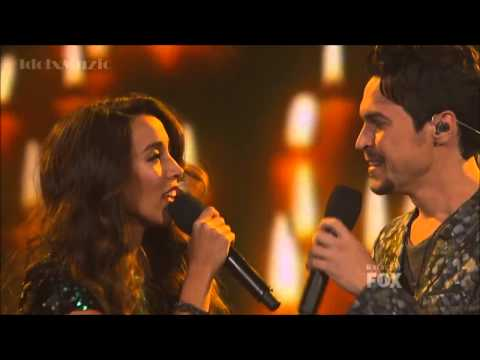 Alex & Sierra  Say Something Winners Final Song