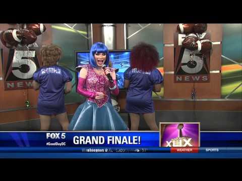 DragCity:DC Cast of Nellie's Drag Brunch on FOX 5 News #GoodDayDC