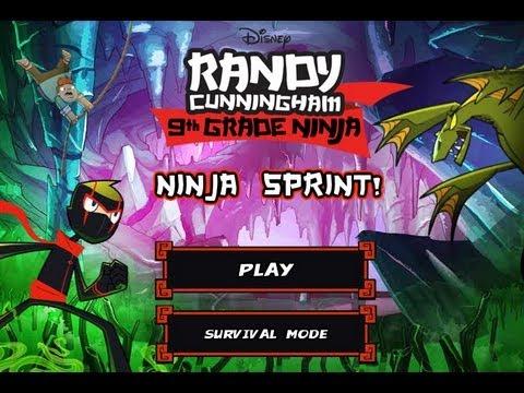Games: Randy Cunningham: 9th Grade Ninja - Ninja Sprint (Part 1)