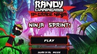 Games: Randy Cunningham: 9th Grade Ninja   Ninja Sprint (part 1)