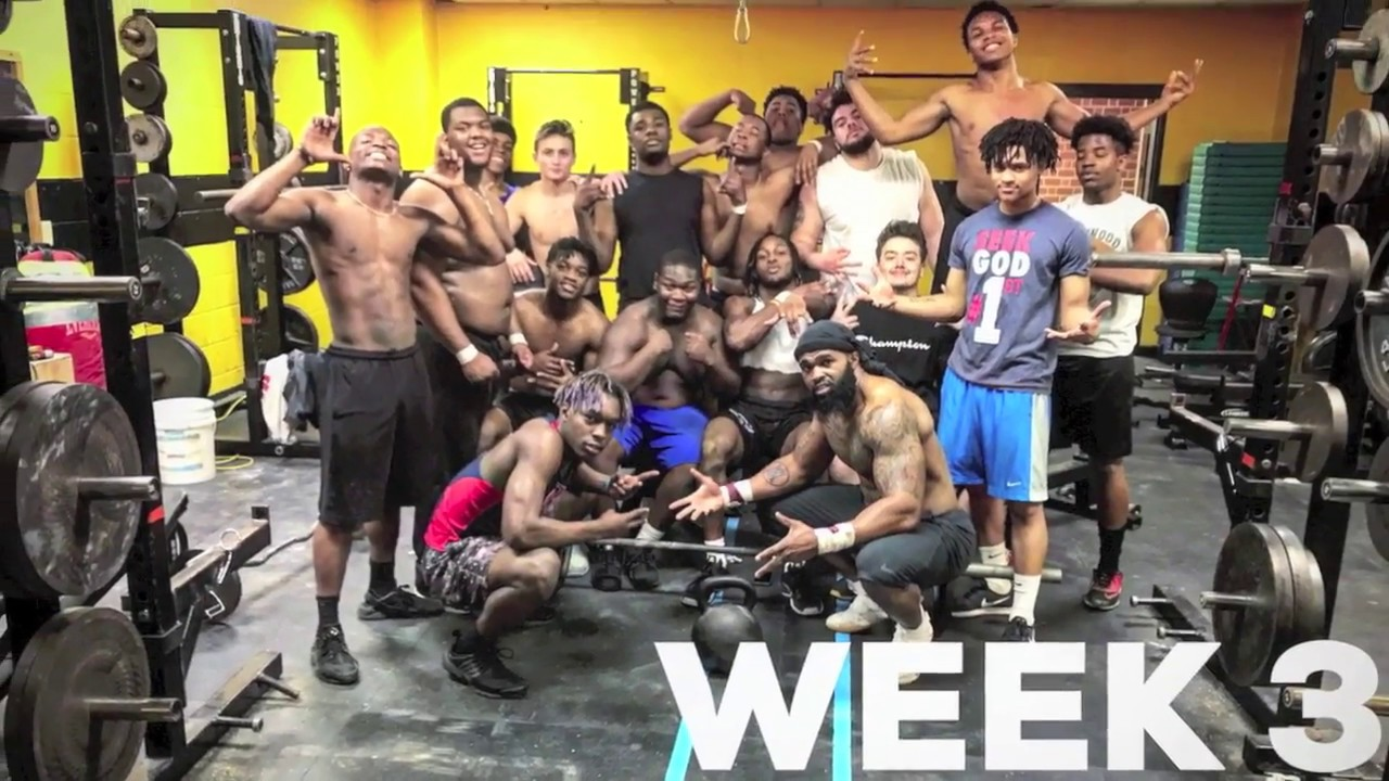 2018 Kenwood H S  Football Strength and Conditioning Program (4week)