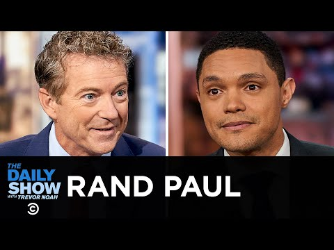 Rand Paul - Embracing Honest Capitalism in The Case Against Socialism | The Daily Show