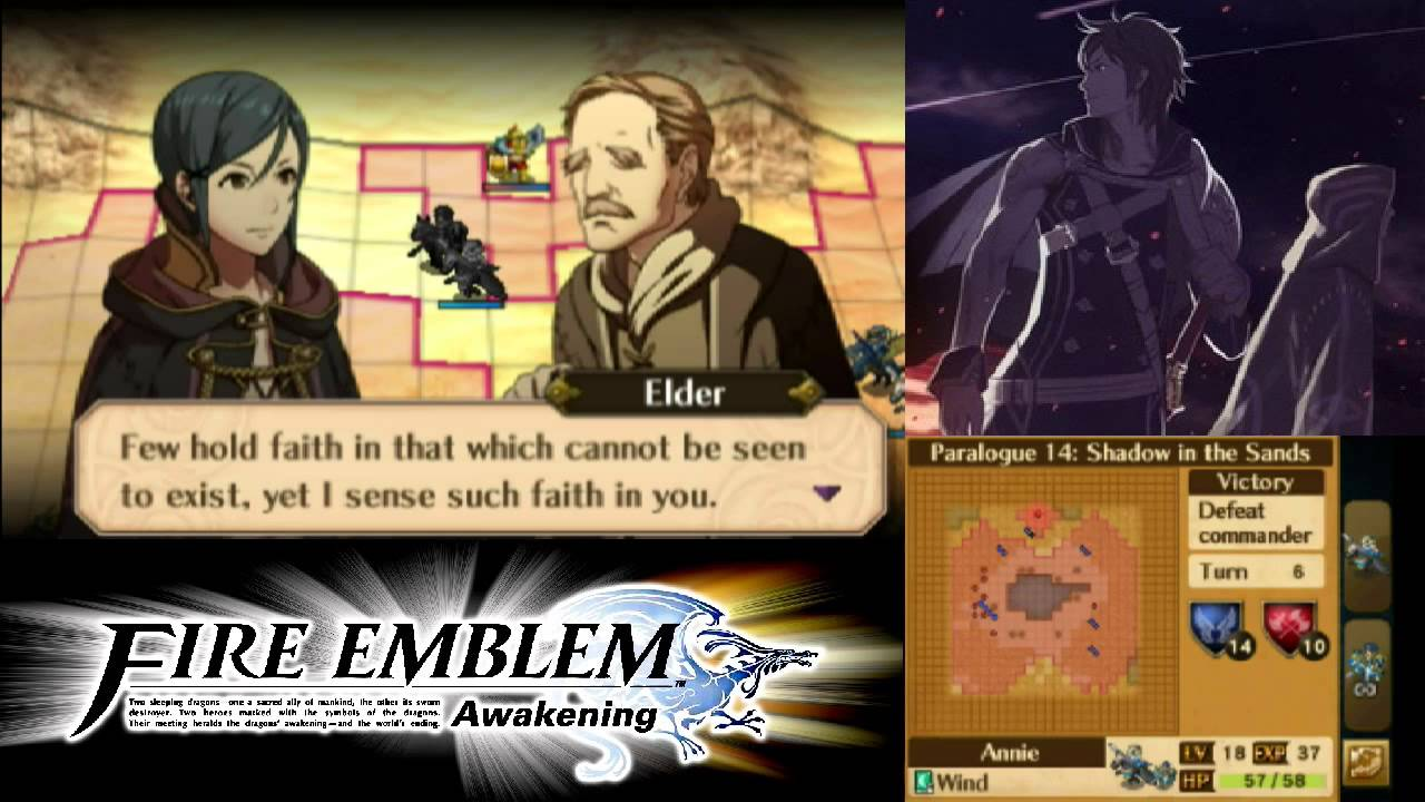 fire emblem awakening paralogue guide