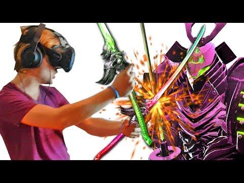 MATANDO CON KATANAS... en REALIDAD VIRTUAL | HTC Vive