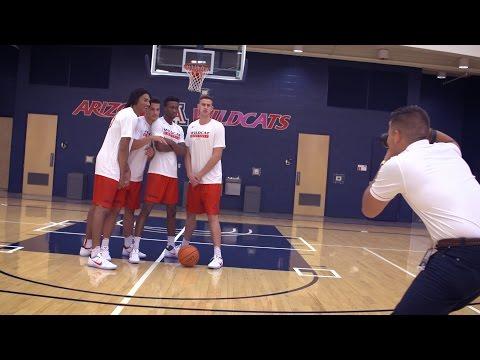 Behind the scenes of 2016 Arizona Basketball Media Day