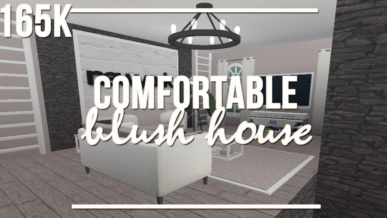 Welcome To Bloxburg: Comfortable Blush House 165k