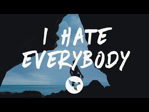 Halsey - I HATE EVERYBODY (Lyrics)