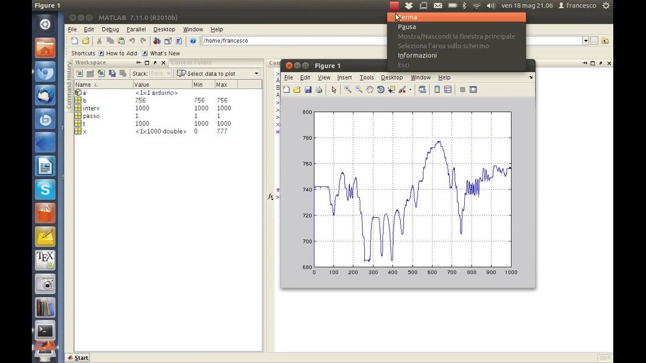 Arduino Interface with MATLAB || Real Time Plot