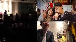 20180324西井が愛を叫んだときの結婚式二次会会場の様子