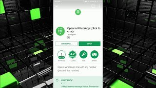 Without Save Number Open in WhatsApp (click to chat) hindi