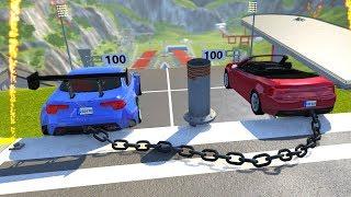 BeamNG DRIVE Random Vehicles Crash Testing Part 11