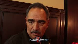 ABEL SANCHEZ DARES CANELO TO TRADE WITH GENANDY GOLOVKIN