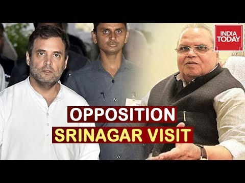 Will J&K Administration Allow Entry To Opposition Delegation In Srinagar?