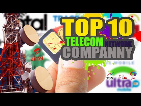 TOP 10 Moblie Telecom Network Oprators In WORLD 2017
