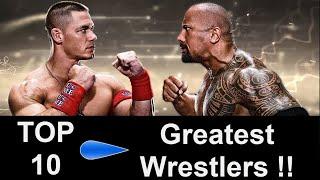 Top 10 Greatest Wrestlers of All Time - John Cena, Big Show, Undertaker, Triple H