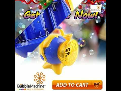 Battery Operated Bubble Maker