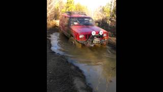 Thank God for a winch!