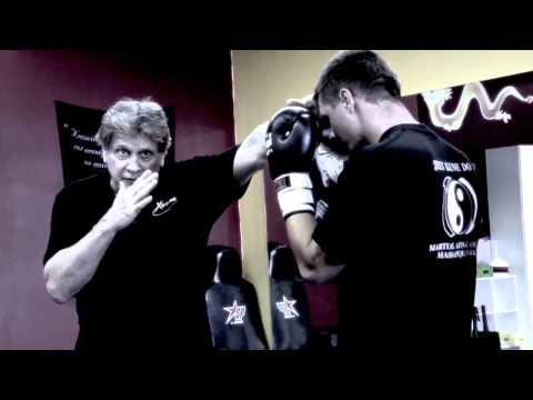 Joe Lewis  At The Jeet Kune Do Martial Arts Academy, Huntington NY 1of3