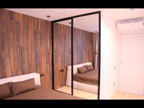 зеркальный шкаф купе в спальню!