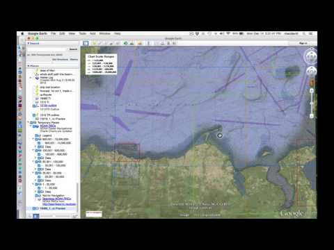 Viewing Nautical Charts on Google Earth