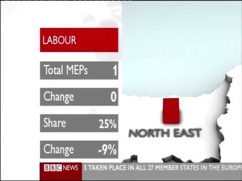 BBC Euro Elections 09 Map animate