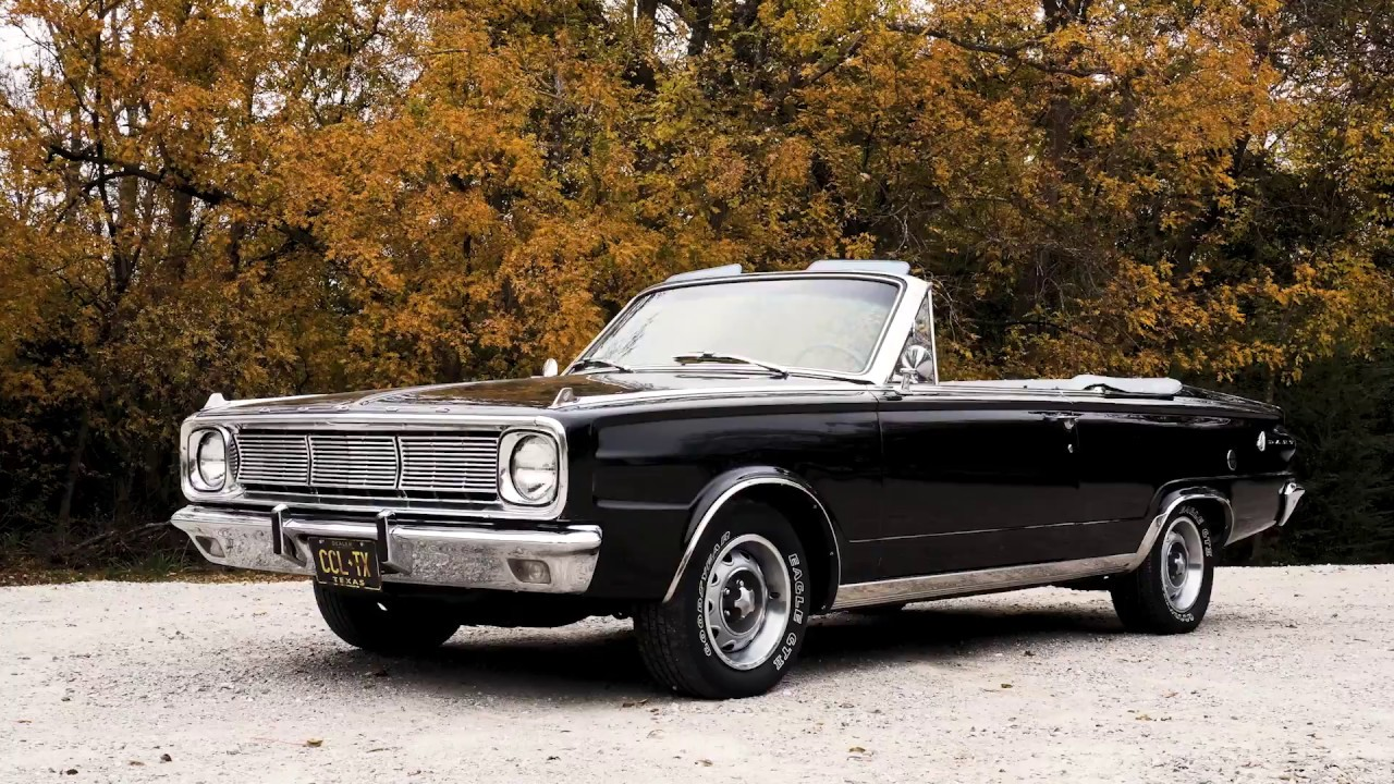 1966 dodge dart convertible