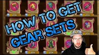 How to Get All Gear Sets   Dragon Set   Clash Set   Drake Set   Craft Set   Art of Conquest