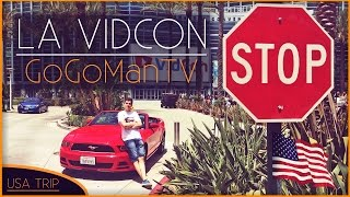 USA TRIP | PART.2 LA VIDCON | 4Fans Crew - GoGo & Tom