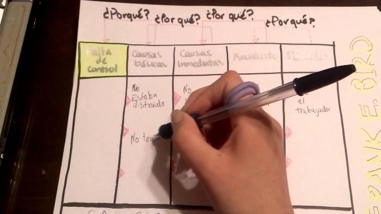 Ejemplo del Modelo de Causalidad por Frank E. Bird - YouTube