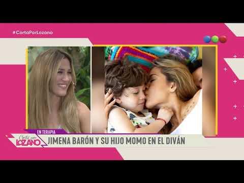 Jimena Barón y su hijo Momo en el diván de Vero - Cortá por Lozano 2019