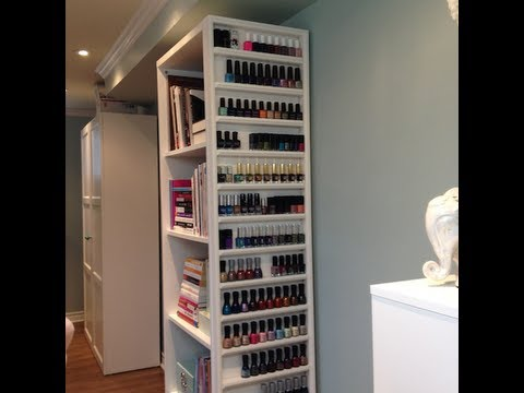 Makeup Storage Nail Polish Rack