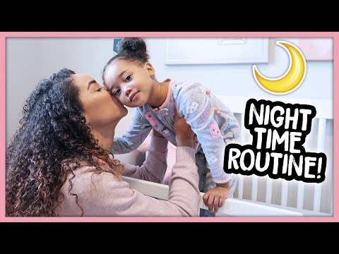 Realistic Night Time Routine With A Toddler! (Single Mom)