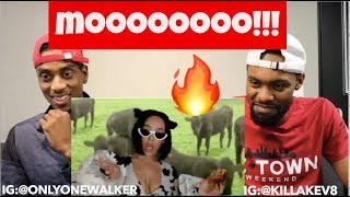 "Doja Cat - ""Mooo!"" (Official Video) REACTION 